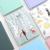 365 Days Personal Diary Planner Notebook Organizer 2017 Weekly Schedule Cute Kawaii Stationery Flower Agenda Journal