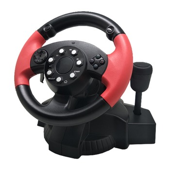 Car For PS3/PS4 PC Racing Game Steering Wheel Simulator 200Degree Rotation Console Gamepad Dual Motor For D-INPUT/X-INPUT/Steam