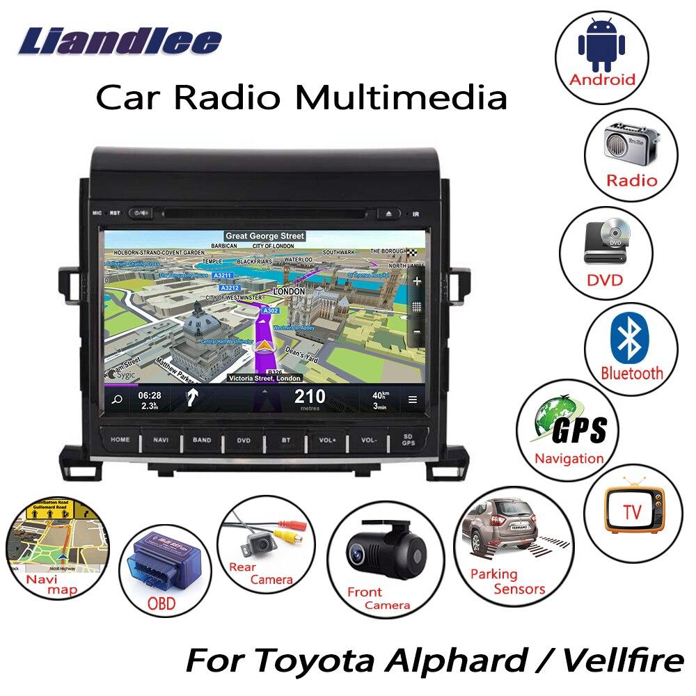 Liandlee For Toyota Alphard / Vellfire 2008~2014 Android