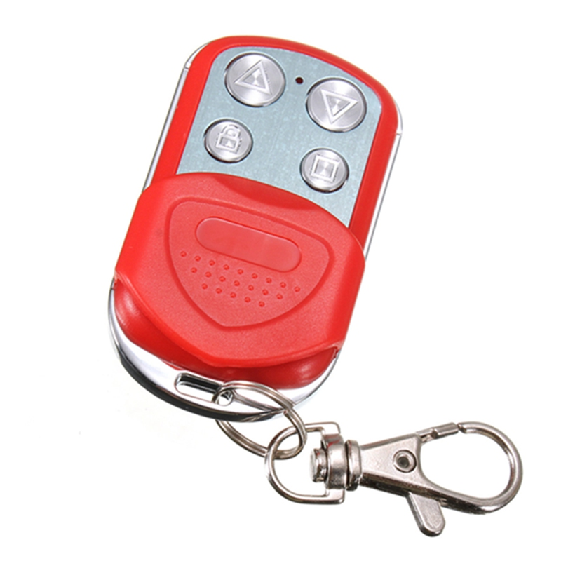Best Promotion Universal 433.92MHz Electric Garage Gate Door Remote Control Key Fob Cloning High Quality universal cloning remote control key fob garage door electric gate 315mhz 433mhz z09 drop ship