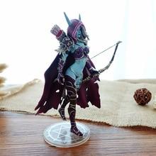 купить 14cm Darkness Ranger Lady Sylvanas Windrunner Figure Toys PVC Action Figure Collection Model Toy Birthday Gifts недорого