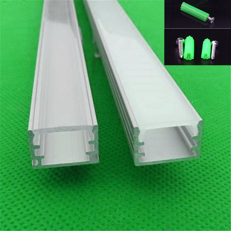 2-30pcs/lot ,0.5m /20inch Each, Aluminum Profile For Led Strip With  Over For 12mm Pcb,90/180 Degree Corner Connector Channel