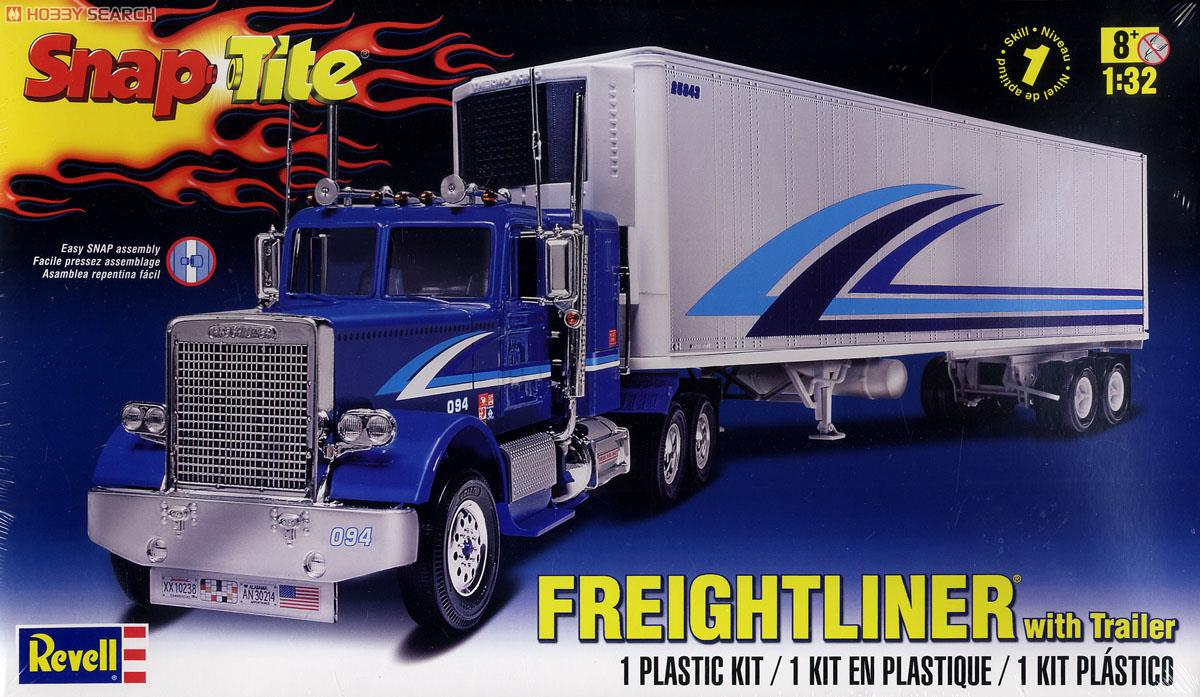 1/32 Snap Tite Freightliner with Trailer Truck  85-19811/32 Snap Tite Freightliner with Trailer Truck  85-1981