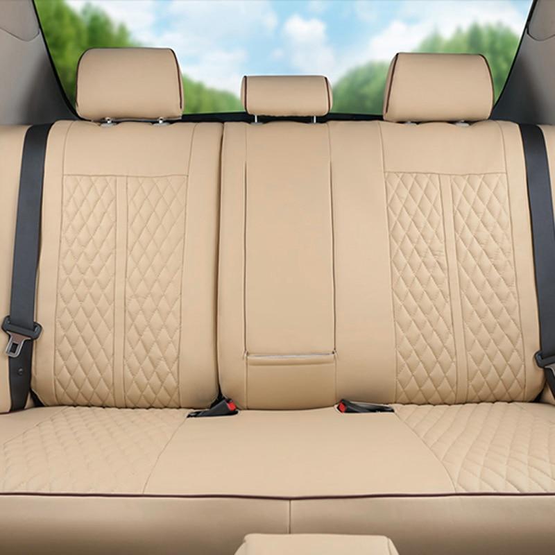 CARTAILOR PU Cubierta de Asiento de Coche de Cuero Ajuste - Accesorios de interior de coche - foto 2