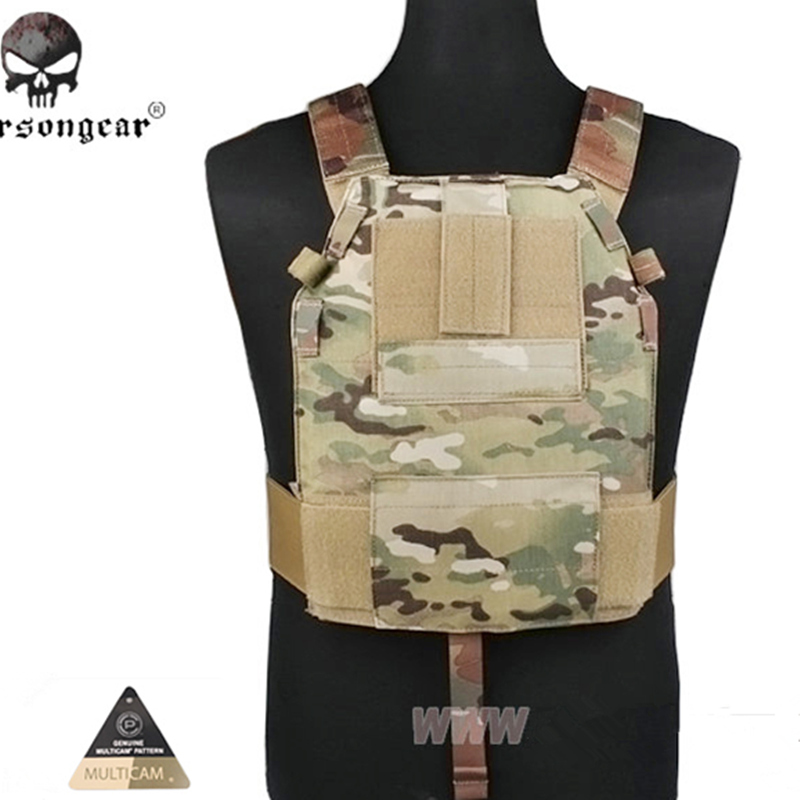 Emerson LBT6094 Style SLICK Medium Plate Carrier Military Tactical Chest Rig Paintball Hunting Vest Gear Body