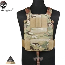 Emerson LBT6094 Style SLICK Medium Plate Carrier Military Tactical Chest Rig Paintball Hunting Vest Gear Body Armor MC BLACK CB