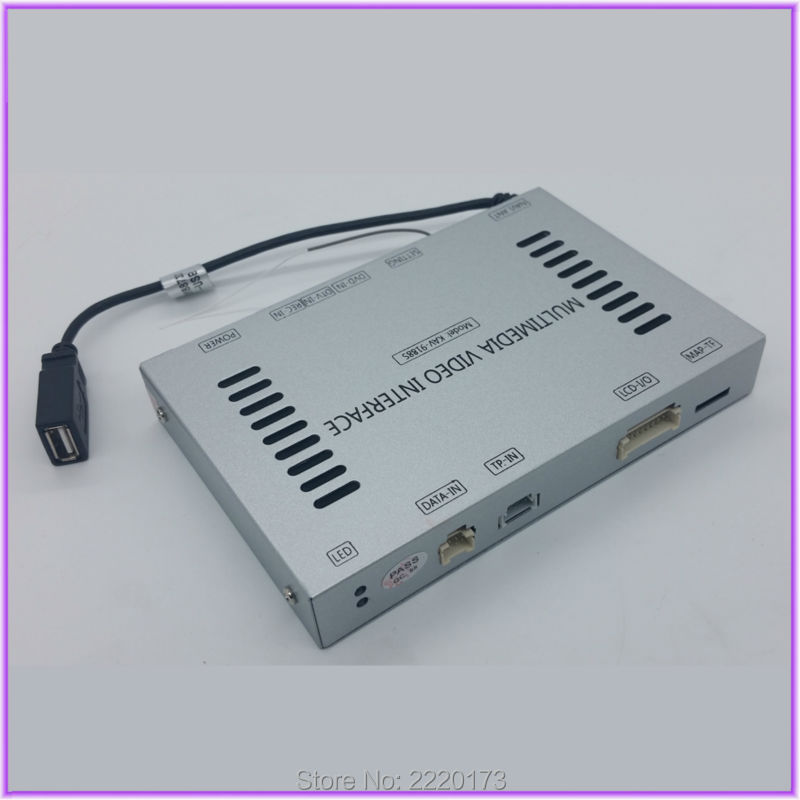 In Car Video Interface GPS Navigation With PAS and PDC Original Video Radio with Monitor 6.5' System For 2012 Audi A4 B8