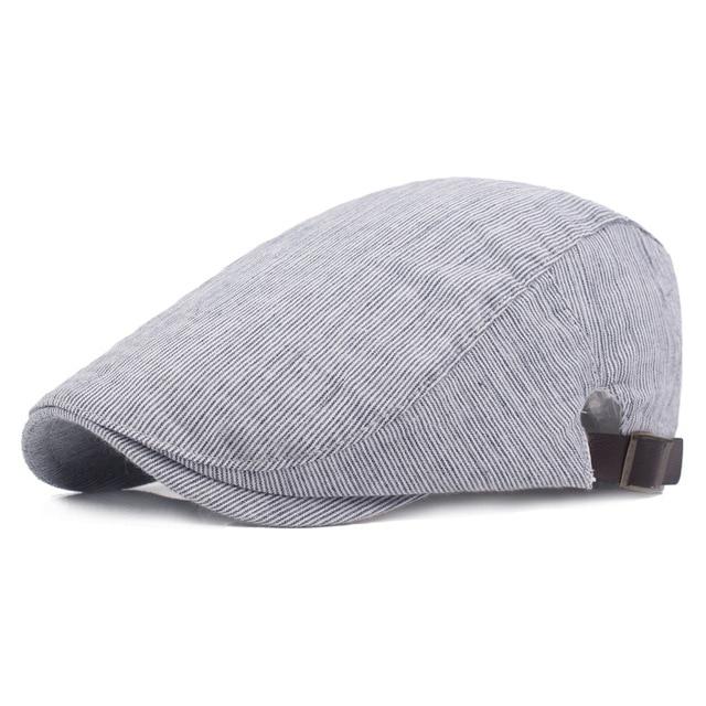 Fasbys inglaterra estilo moda vintage sólido del verano sombreros de sun  para los hombres mujeres gris 7b5b9aed2c4