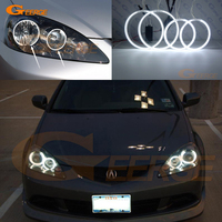 For Acura RSX 2005 2006 Excellent Ccfl Angel Eyes Kit Ultrabright Illumination CCFL Angel Eyes Halo