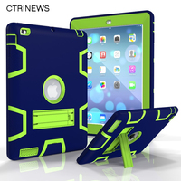 For New IPad 9 7 2017 Tablet Case Hybrid Shockproof Protect Armor Case For Ipad A1822