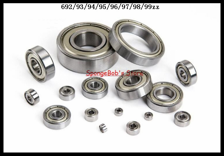 30pcs/Lot 696ZZ 696 ZZ 6x15x5mm Mini Ball Bearing Miniature Bearing Deep Groove Ball Bearing abec 5 10pcs 696zz 6x15x5 mm miniature ball bearings 696 thin wall deep groove ball bearing 6962z 6 15 5mm fo 6mm shaft