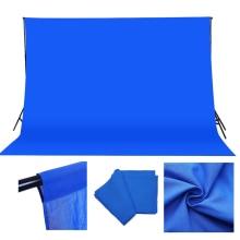 3*3M Cotton Muslin photo Background Photography Backdrops studio Blue Screen Chroma key Background Fotografia Shooting Backdrop