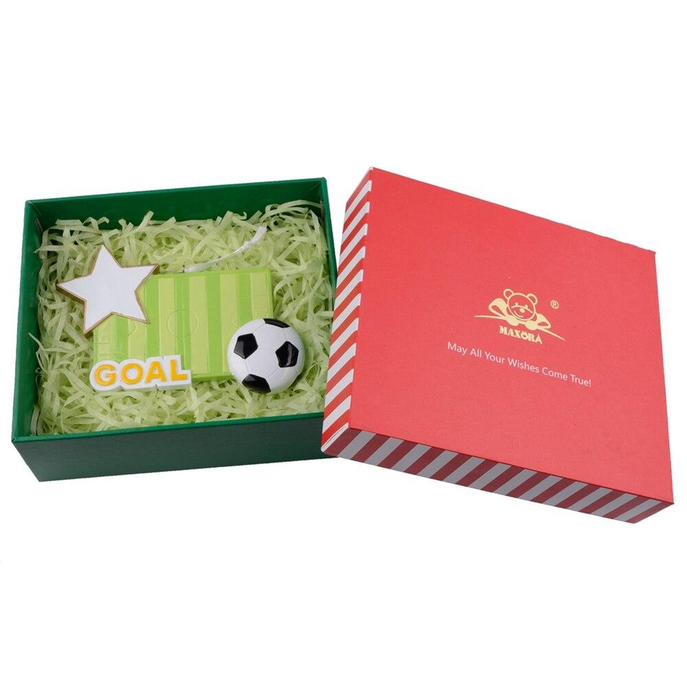 Futbol Sahəsi İdman Qatran sənətkarlığı Milad bəzəkləri - Ev dekoru - Fotoqrafiya 3