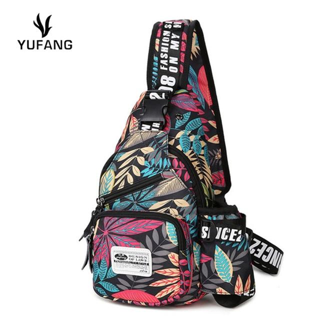 YUFANG novos homens peito saco de moda japão e estilo coreano pacote de peito de volta de alta qualidade oxford mochila marca ombro mensageiro saco