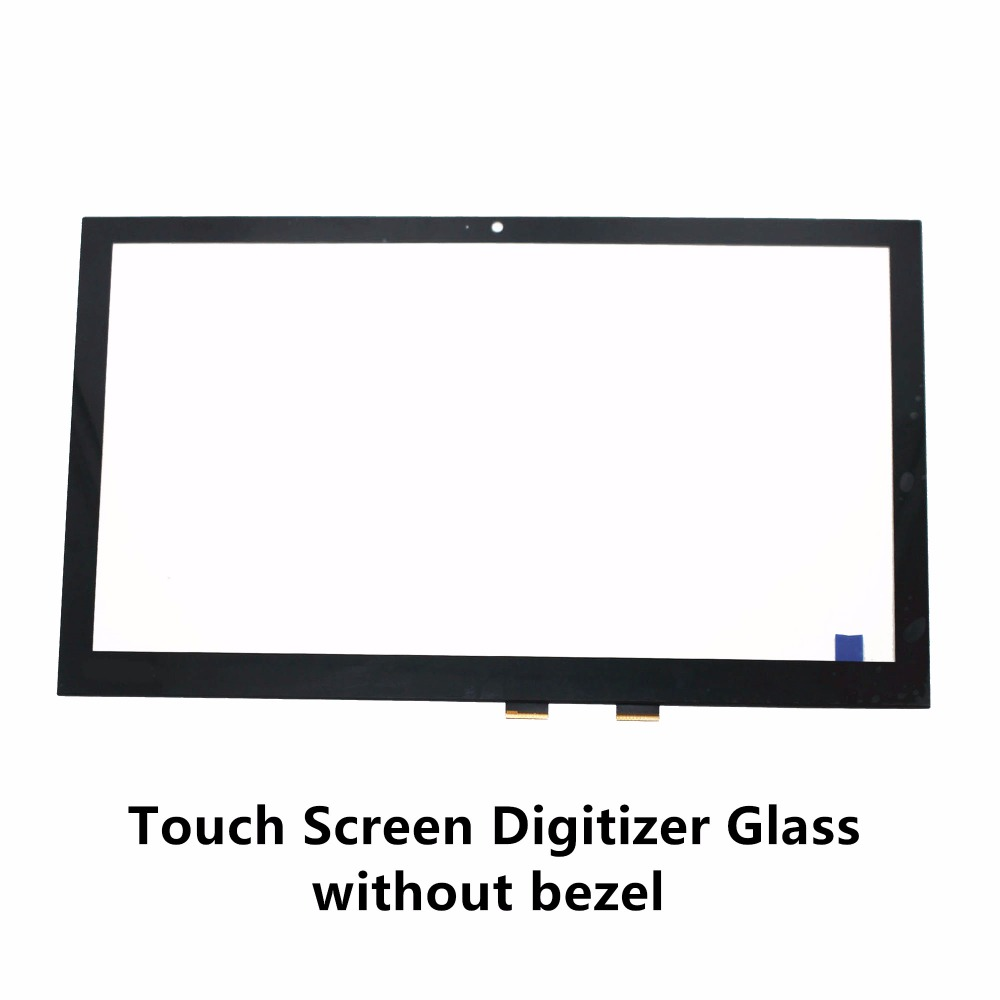 15.6 Laptop Touch Screen Glass Digitizer Panel Replacemet For Toshiba Satellite Fusion 15 L50W-C L55W-C L55W-C5256 L50W-CBT2N01 футболка мужская puma basic 2p crew tee цвет черный 2 шт 90668901 размер s 44 46