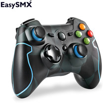 EasySMX ESM-9013 Gamepad 2.4G Wireless Game Controller Joysticks Dual Vibration TURBO for PS3 Android Phone Tablet PC Camouflage(China)