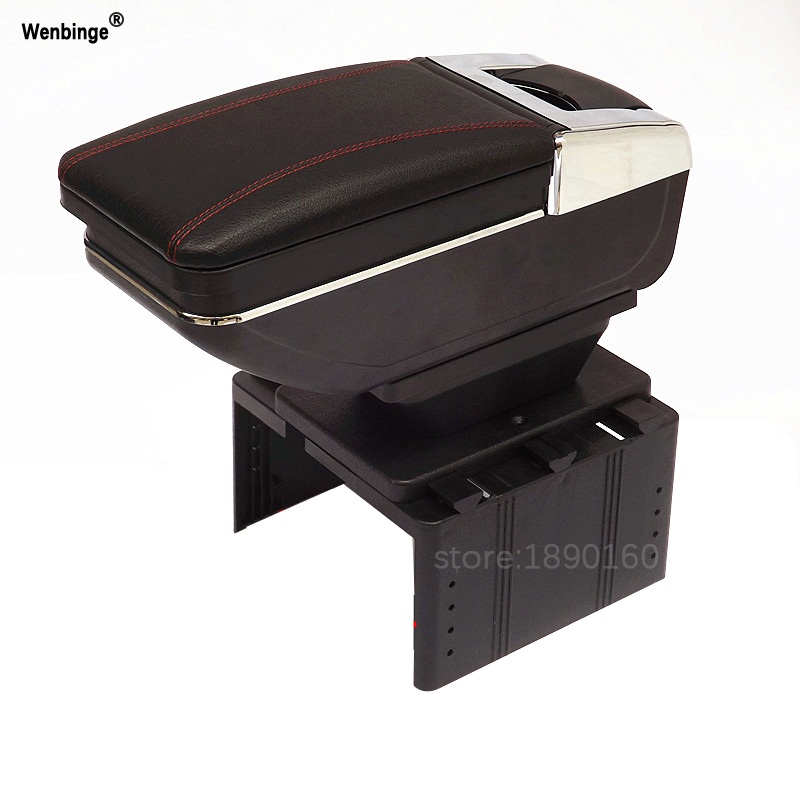 Car armrest central Store content Storage box with cup holder ashtray accessories For Chevrolet Hyundai VW Kia Toyota Peugeot чековая лента 57х12х30 термо
