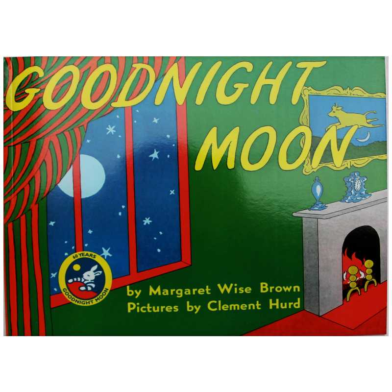 Goodnight Moon By Margaret Wise Brown Educational English Picture Book Learning Card Story Book For Baby Kids Children Gifts
