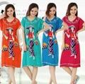Ladies Cotton Nightdress Character Beauty Girl Night Dress Short Sleeve Sleep Shirt Casual Sleepshirt Summer Sleepwear For Women