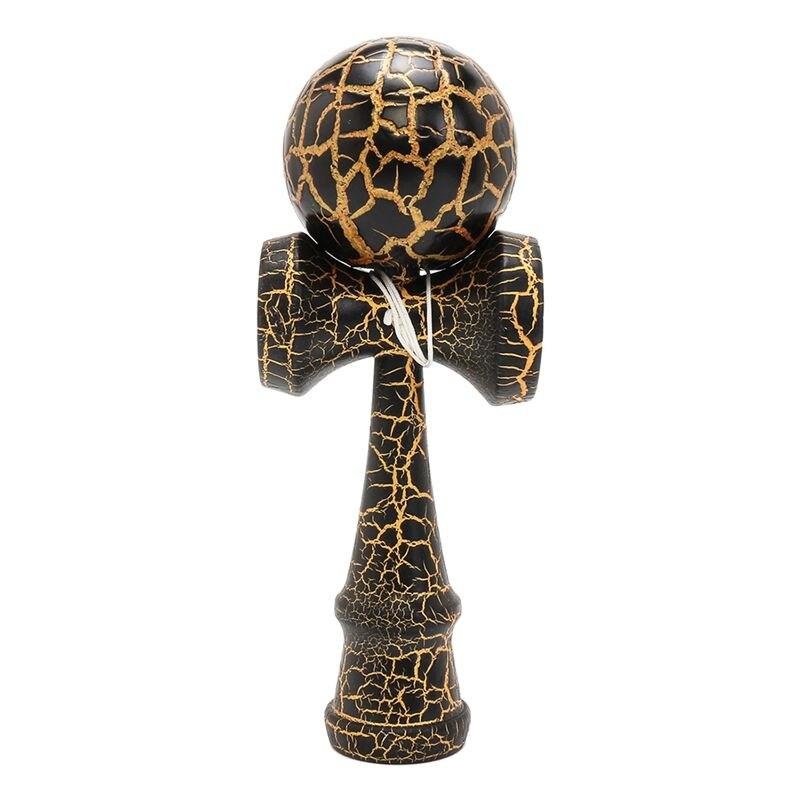 Crackle completo em kendama bola de madeira educação brinquedo jogo tradicional