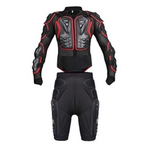 Free shipping Men's and women's motorcycle Armor Protection Jacket Protector Cross Chest Back Protective shorts protective suits