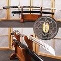 Последний самурайский японский меч катана ручной работы из высокоуглеродистой стали Полный Тан острый Espada том круиз самурайский меч для ко...