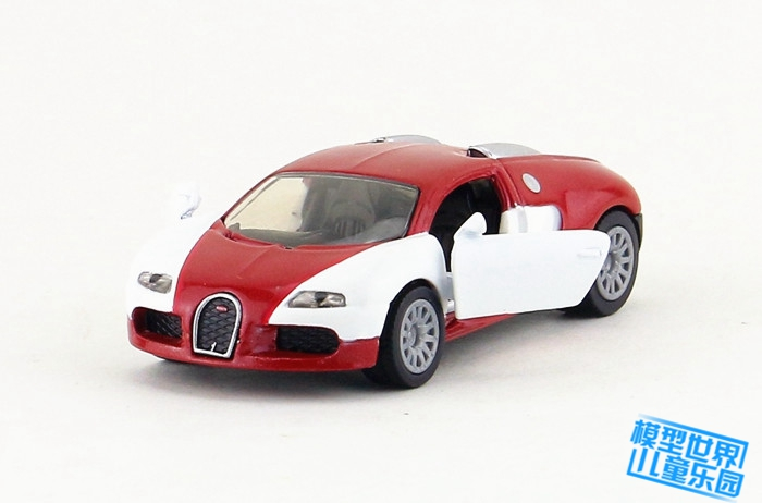 SIKU 1305/DieCast Metal Model/1:55 Scale/Bugatti EB 16.4 Veyron Super Sport Car/Toy for childrens gift/Educational Collection