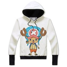 One Piece Tony Chopper Costume Hoodie Hoody Coat  Teens