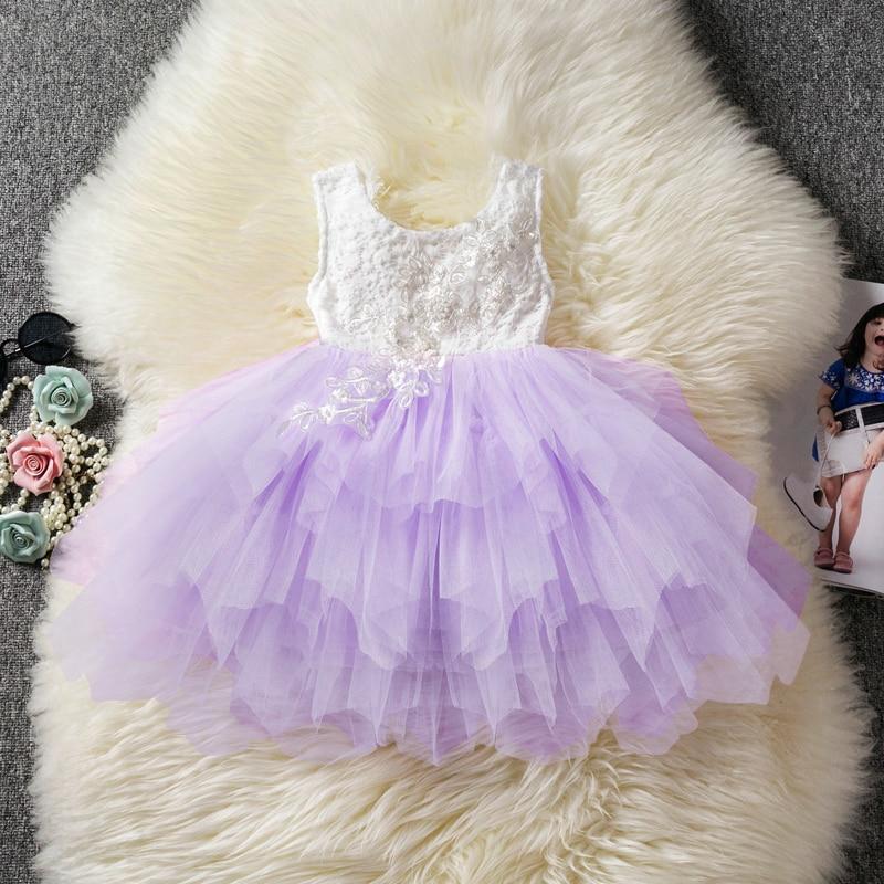 K-Youth Vestido Princesa Ni/ña Vestido de Fiesta Ni/ña Largo Tutu Vestidos para Ninas para Boda Vestido de Novia Chica Vestidos Ceremonia Ni/ña Vestido de C/óctel Cumplea/ños Bautizo