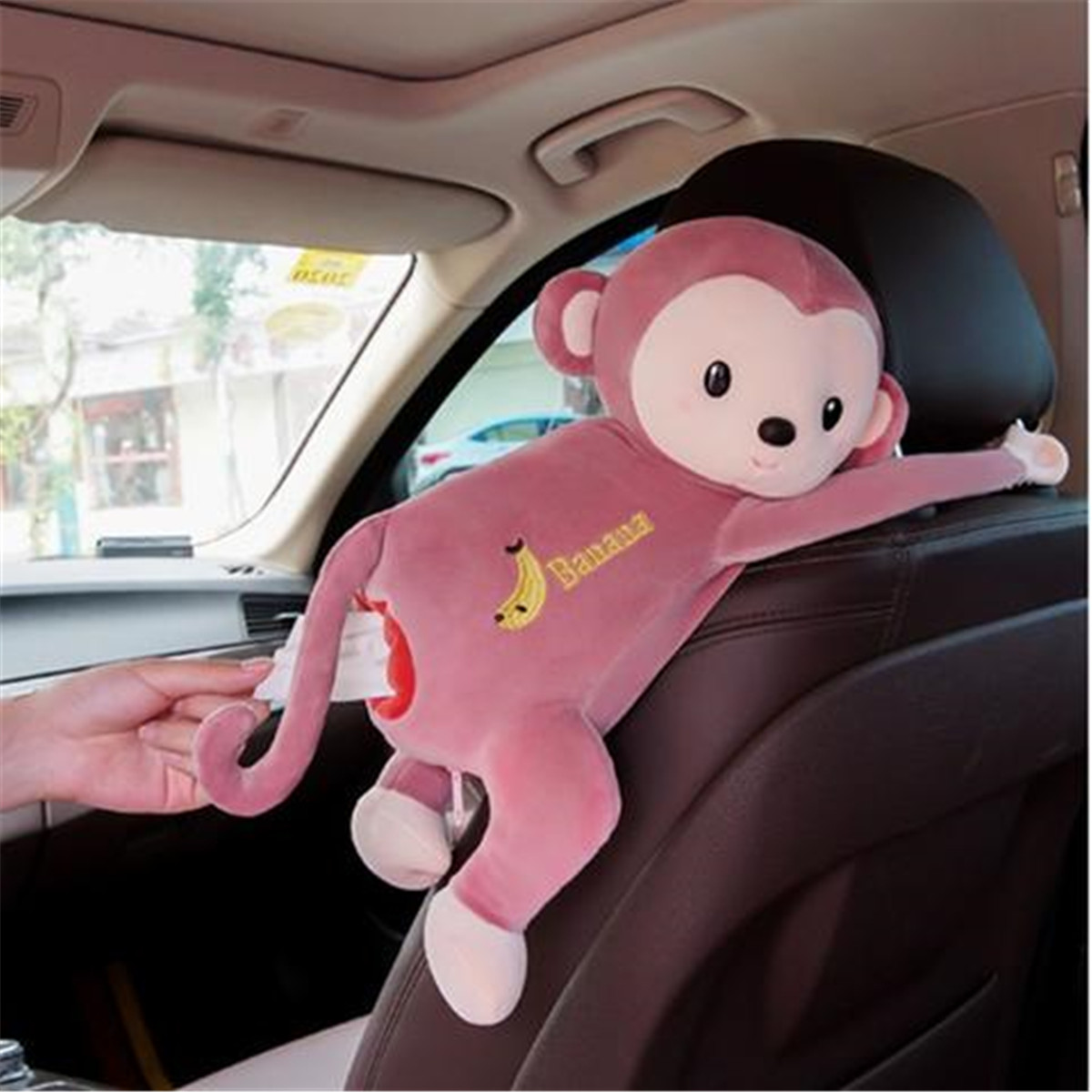 Case Tissue-Box Paper-Napkin Monkey Animals Creative Cartoon Styles Cute Newest Hot-Fashion