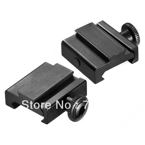10pair Hunting Scope Weaver & Picatinny 20mm to Dovetail 11mm Adapter Rail Mount / 20-11 ...