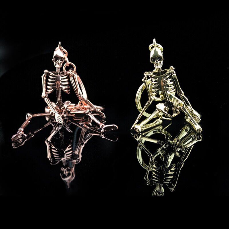 Keychain κρανίο για τους άνδρες - Κοσμήματα μόδας - Φωτογραφία 5