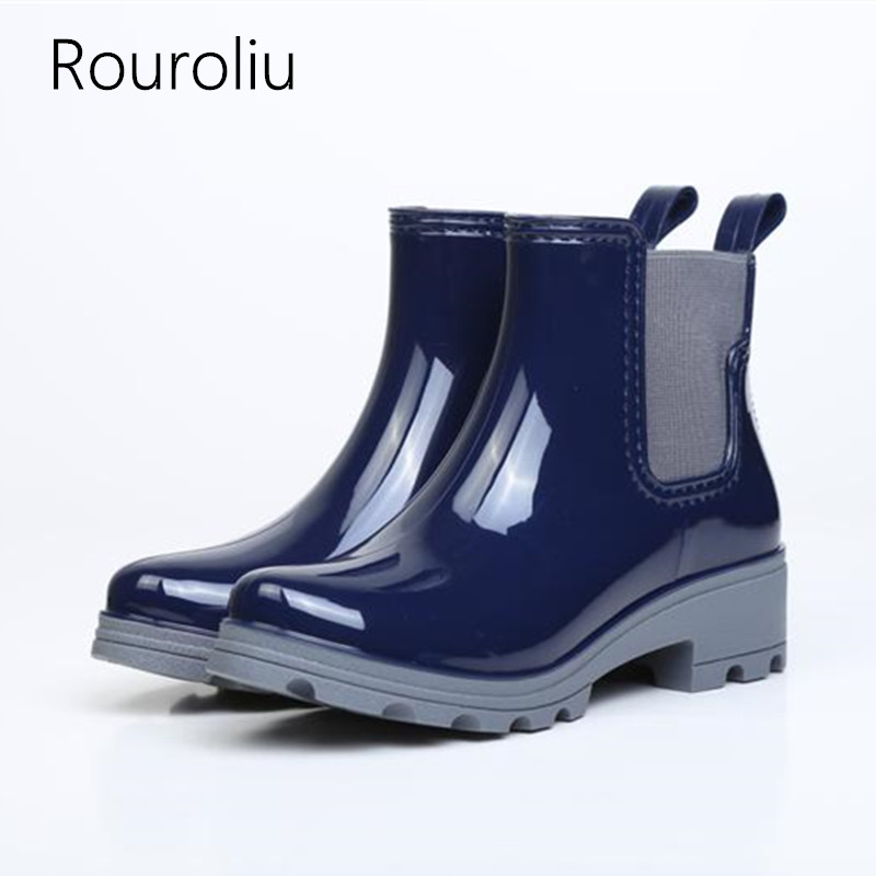 Popular Rain Boots Women-Buy Cheap Rain Boots Women lots from ...