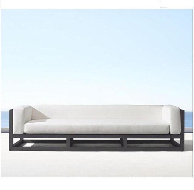 Nuevo sofá de aluminio para jardín