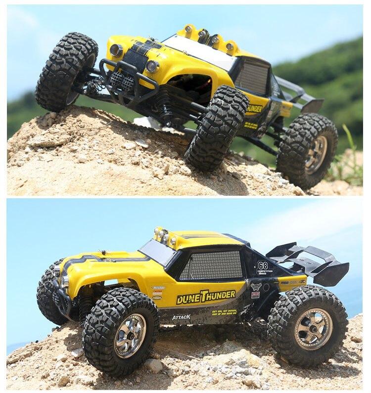 HBX 12891 Thruster RC Car 1 12 2 4G 4WD Waterproof Hydraulic Damper RC Desert Buggy