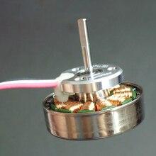 Трехфазный бесщеточный редкоземельный магнит внешний роторный двигатель 12N16P маленький магнитный зазор для модели автомобиля, БПЛА четырехосевой фиксированное крыло