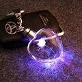 7 свет LED обложка ключ брелок для пар хрустальный ключ фонарик брелки кольца держатель фантастические звери трития SNP САН-МЕРА