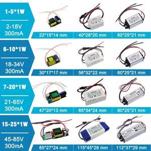 Image 3 - No Flicker 1W 3W 5W 10W 20W 30W 36W 50W 100W LED Driver Lighting Transformers Power Supply for 1 3 5 10 20 30 50 100 W Watt Lamp