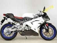 Vendas quentes, Para Aprilia RS125 2006-2011 RS 125 06 07 08 09 10 11 ABS RS125 Material Carenagens da motocicleta Kit (moldagem por injeção)