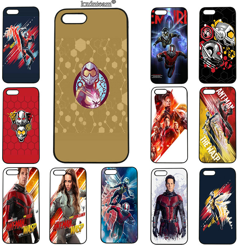 Ant-Man and the Wasp Movie Phone Cases Hard PC Plastic Cover for iphone 8 7 6 6S Plus X 5S 5C 5 SE 4 4S iPod Touch 5 6 Shell