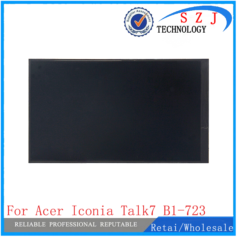 New 7'' inch For Acer Iconia Talk 7 B1-723 LCD screen LCD display Replacement Repair Part Free Shipping srjtek 7 inch lcd touch screen for acer iconia talk b1 723 a7 3g b1 723 glass panel digitizer with frame free tools