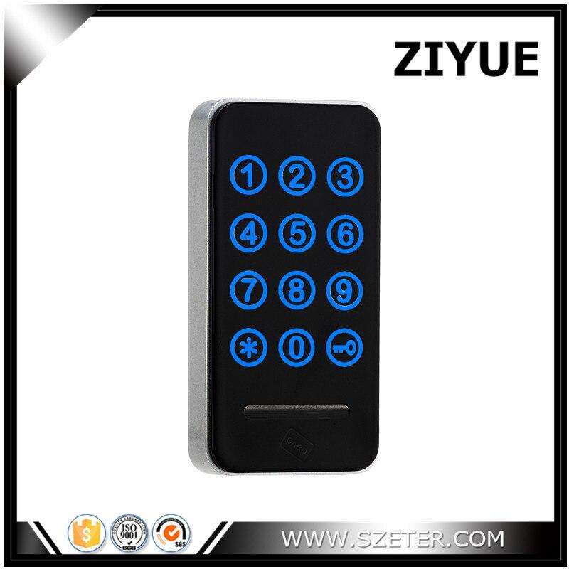 Free shipping Touch Keypad Password RFID Card Key Metal Digital Electronic Cabinet locker lock 118PW touch numeric keypad password rfid card key digital electronic cabinet locker lock wholesale