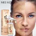 MEIKING Hyaluronic Acid Argireline Six Collagen Peptides Anti Wrinkle Face Serum Anti-Aging Essence Moisturizing Whitening Cream