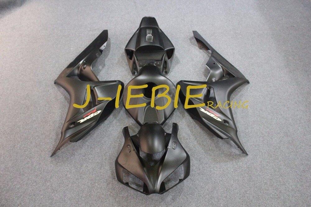 Dumb black Injection Fairing Body Work Frame Kit for HONDA CBR1000RR CBR 1000 CBR1000 RR 2006 2007