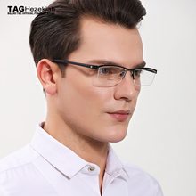 Eyewear Frames Brand titanium glasses frame women men 2018 Retro computer myopia optical glasses oculos de grau lunette de vue