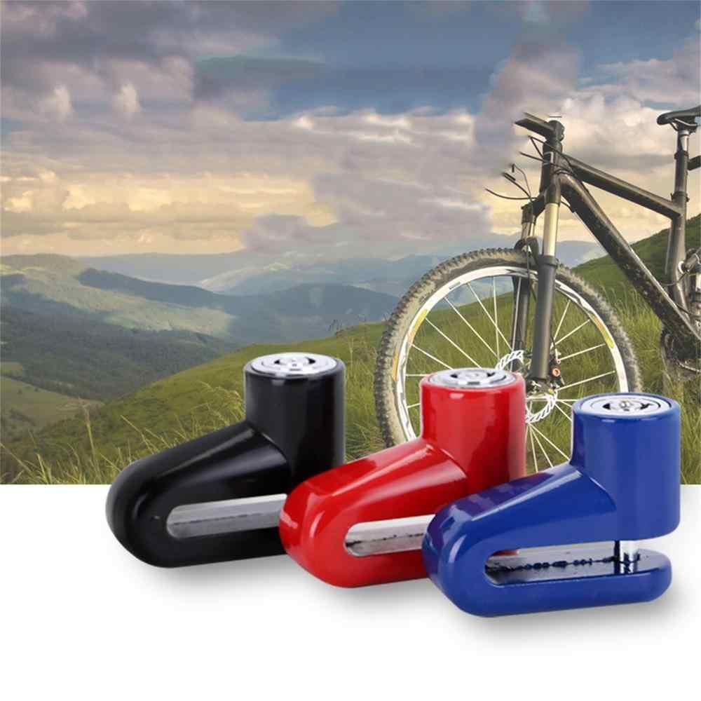 Scooter Durable cyclisme sécurité Anti-vol disque disque vélo moto frein Rotor serrure idéal pour l'extérieur