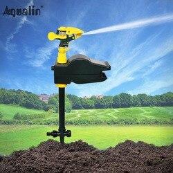 Movimiento Solar activado potente ecológico Jet Spray repelente Animal jardín Control de Plagas repelente #31004