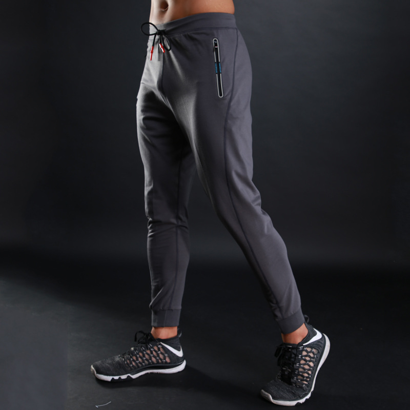 1c9f14bdb49 WOSAWE Brand Spring fitness legging men Elastic Breathable joggers clothes  Drawstring Outwear Sweatpants Male Pants Trousers L10