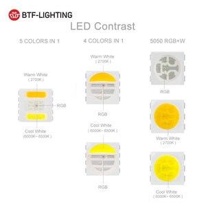 Image 4 - 5050 RGBW Led Lights 4pin RGB Led Strip 5pin 4 in 1 RGBWW RGBCW Led Strip Light 6pin 5 in 1 RGBCCT 5 meters 300 LEDs 12 24 Volt