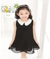 Wholesale children's fashion Summer kids girls girl party print dress brand 3~13Age retail free shipping Hot sale